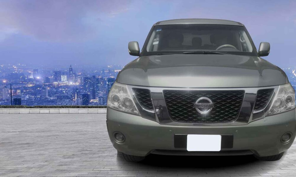 stallion approved - nissan PATROL 2010 01 Front VIEW