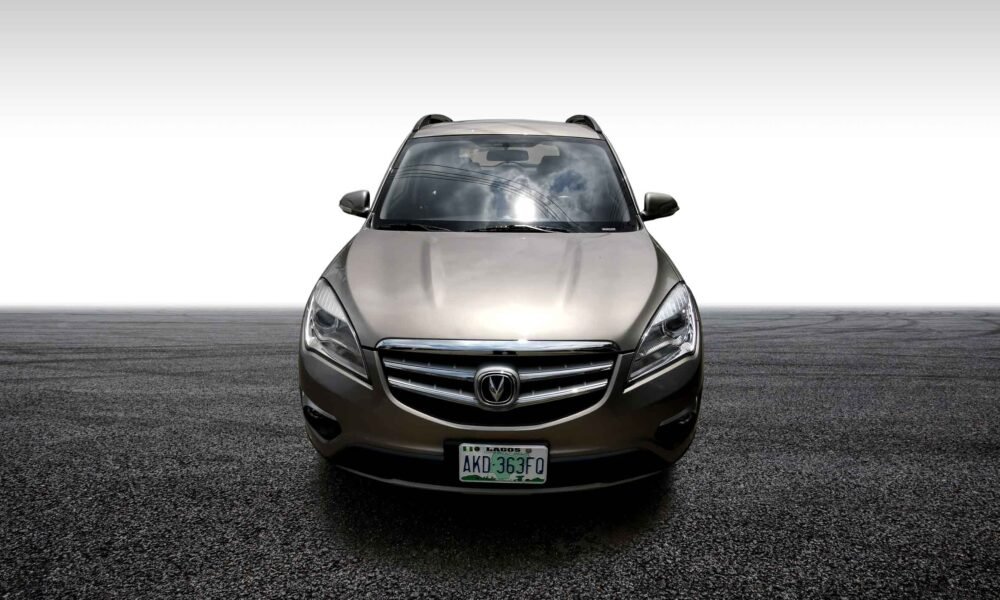 stallion approved - CHANGAN CS35 front view