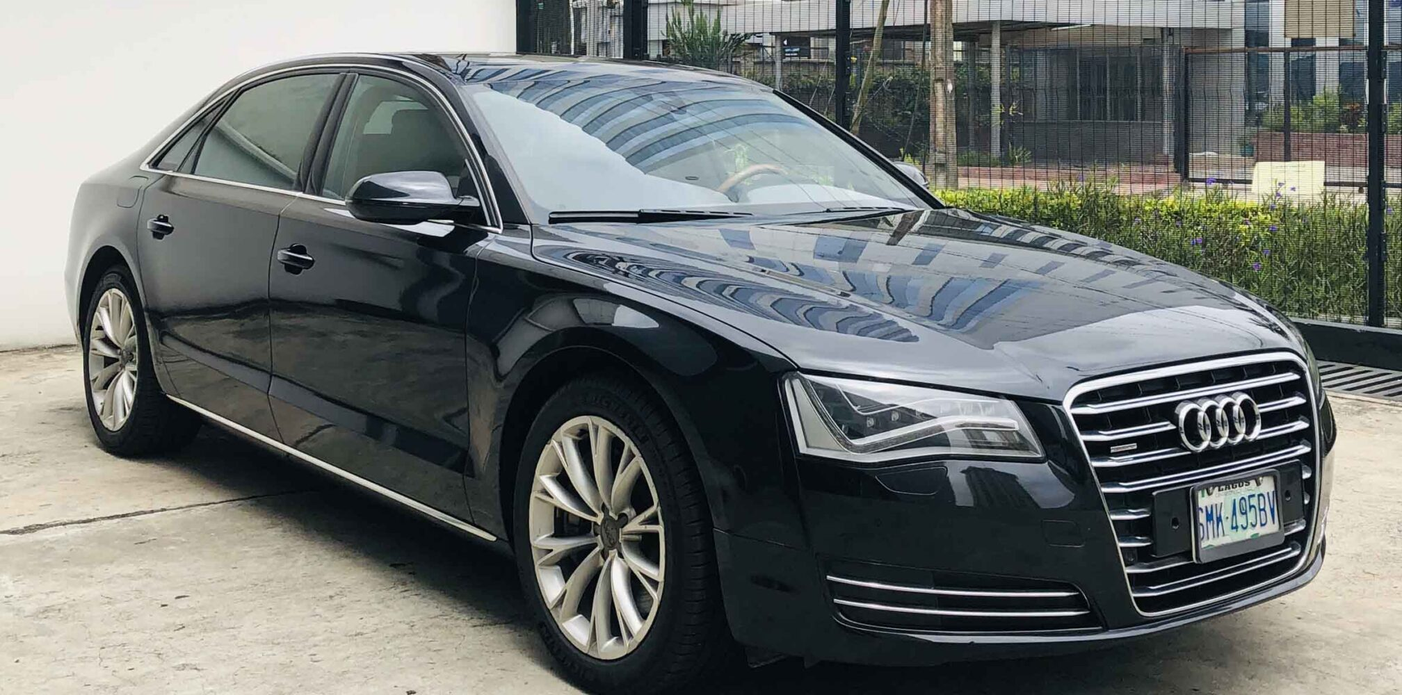 stallion approved - pre-owned audi 8 - front view 2
