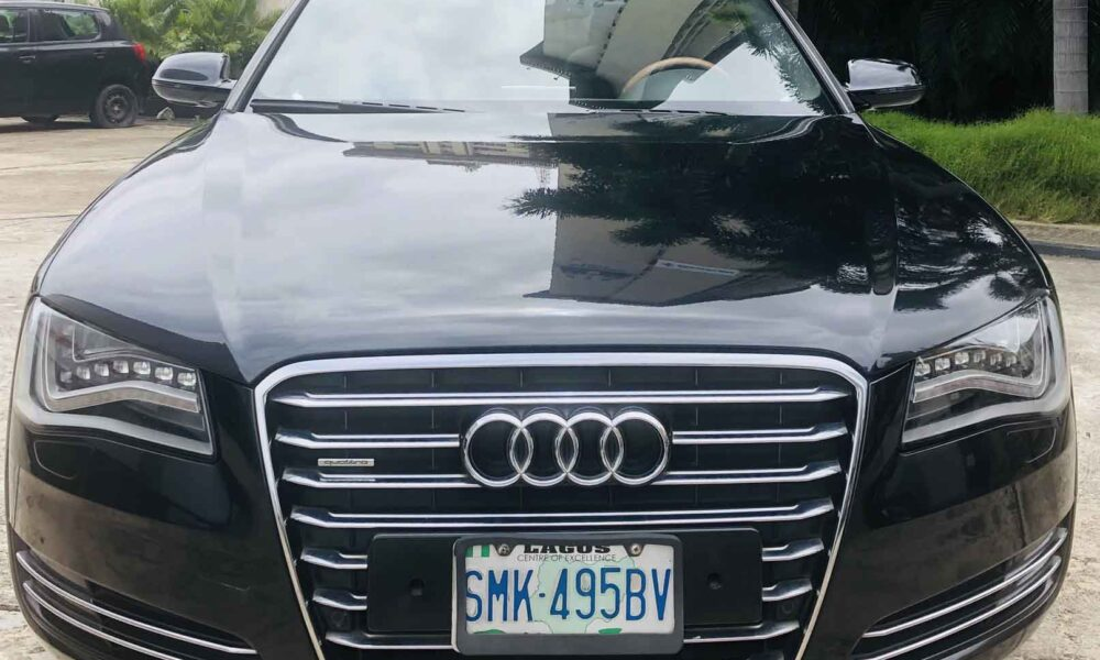 stallion approved - pre-owned AUDI 8 - front view
